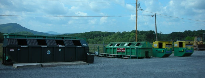 Convenience Centers in Whitfield County