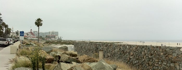 Coronado Beach is one of Beach Bouncing in So Cal.