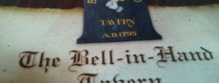 Bell In Hand Tavern is one of BUcket List.