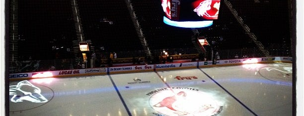 Gila River Arena is one of Pro Stadiums in the Valley.