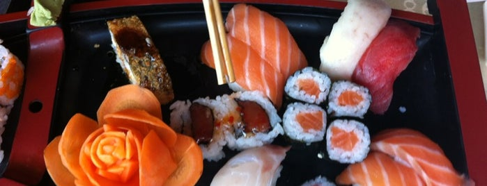 Sakura is one of Sushi.