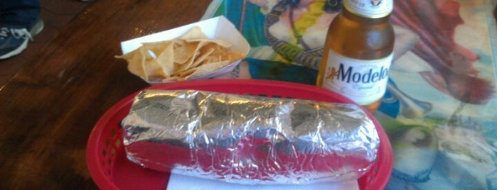 Taqueria La Cumbre is one of Burritos!.