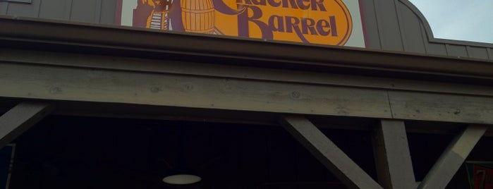 Cracker Barrel Old Country Store is one of Top 10 restaurants when money is no object.
