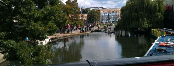 Camden Lock Market is one of London as a local.