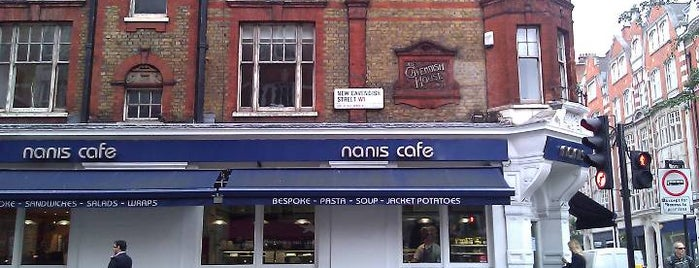 Nanis Cafe is one of Around Cavendish Campus.