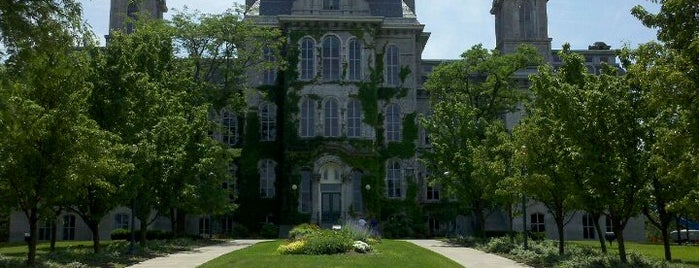 Syracuse University is one of College Love - Which will we visit Fall 2012.