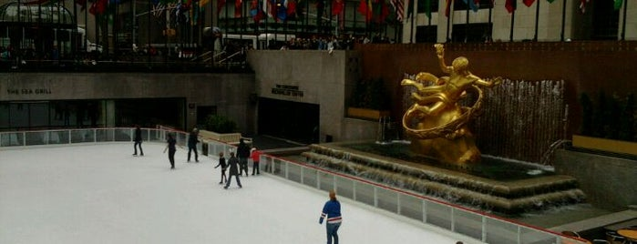 30 Rockefeller Plaza is one of New York for the 1st time !.