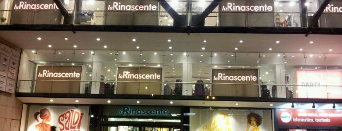 La Rinascente is one of shopping.