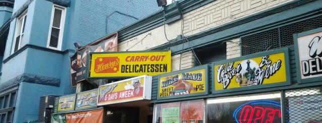 Henry's Soul Café is one of ♥ U St..