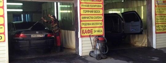 Мойка на Рубцовской наб. is one of Танки грязи не боятся?.