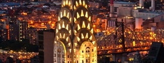 Chrysler Building is one of New York for the 1st time !.