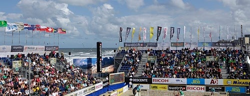 The Hague Beachstadion is one of Welcome to The Hague #4sqCities.