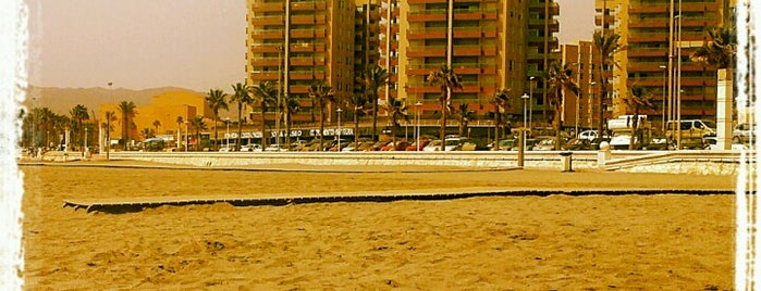 Playa De La Térmica is one of Almería Playas.
