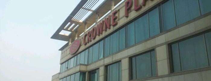 Crowne Plaza is one of Airports & Hotels.