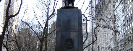 Simon Bolivar Statue is one of USA NYC MAN Midtown West.