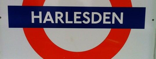 Harlesden London Underground and London Overground Station is one of Tube Challenge.