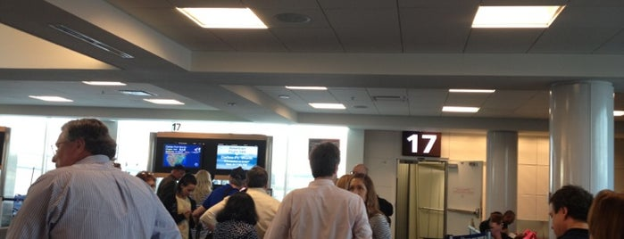 Gate 17 is one of MCO.