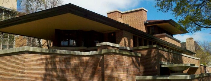 Frank Lloyd Wright Robie House is one of Chicago.