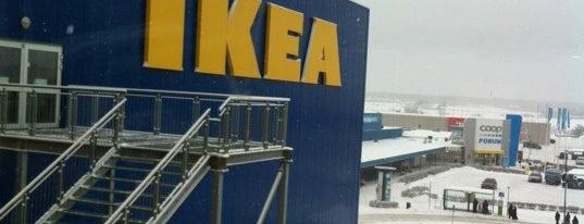 IKEA is one of Uppsala: City of Students #4sqcities.