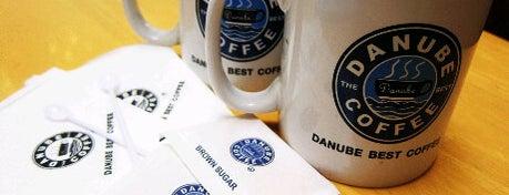 Danube Best Coffee is one of ╭☆╯Coffee & Bakery ❀●•♪.。.