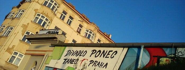 Divadlo Ponec is one of prazsky bary / bars in prague.