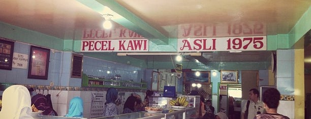 Pecel Kawi is one of Kuliner Malang.