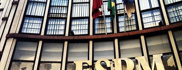 Escola Superior de Propaganda e Marketing (ESPM) is one of Quero trabalhar aqui!.