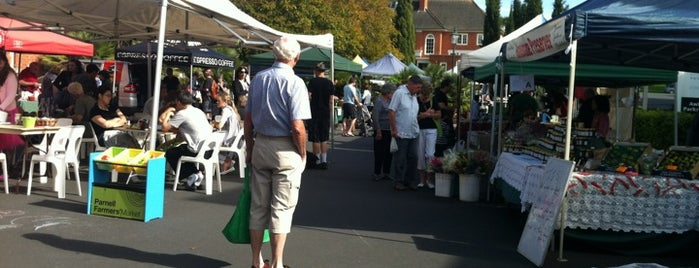 Parnell Farmers Market is one of NZ to go.