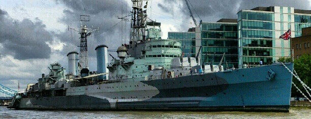 HMS Belfast (C35) is one of Harry Potter & The Mayor Of Diagon Alley.