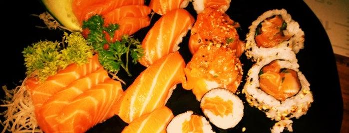 Okumura - Temakeria & Freshfish is one of Em Santos.