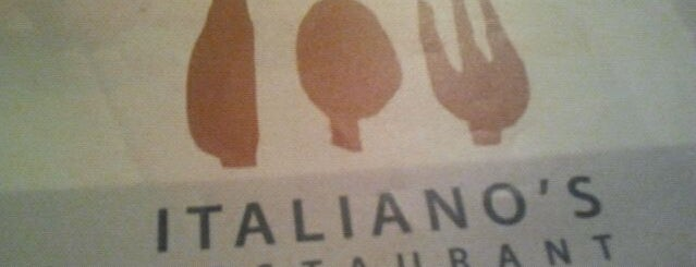Italiano's is one of Favorite places.