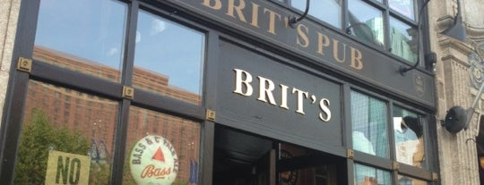 Brit's Pub & Eating Establishment is one of The 15 Best Places for Whiskey in Minneapolis.