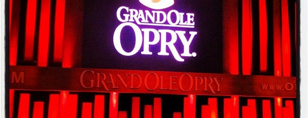 Grand Ole Opry House is one of To Do: Nashville.