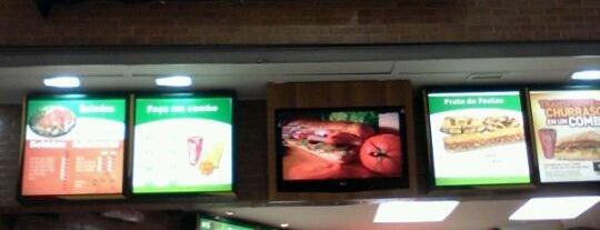 Subway is one of MAYORSHIPS.