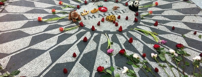 Strawberry Fields is one of 101 places to see in Manhattan before you die.