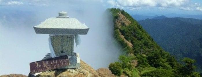 Mt.Tengu-dake is one of 四国の山.