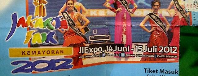 Arena Pekan Raya Jakarta (PRJ) is one of Enjoy Jakarta 2012 #4sqCities.