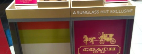 Sunglass Hut is one of places.