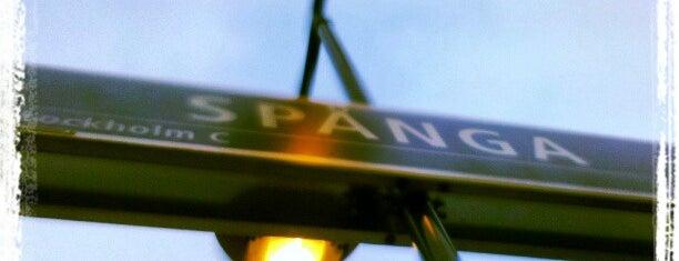 Spånga (J) is one of SE - Sthlm - Pendeltåg.