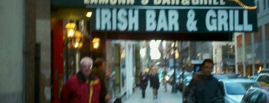 Eamonn's Bar & Grill is one of NYC Bars w/ Free Wi-Fi.