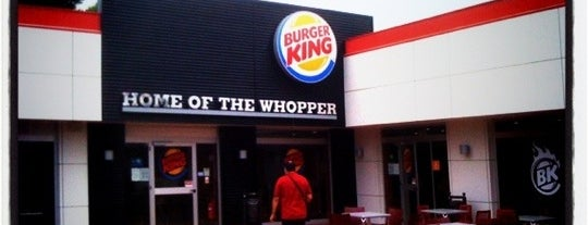 Burger King is one of 20 favorite restaurants.