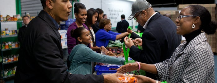 Capital Area Food Bank is one of Eat as the Obamas.