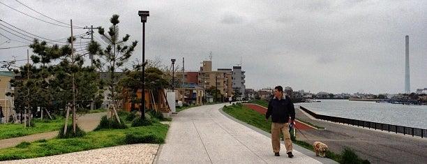 常夜灯公園 is one of サイクリング.