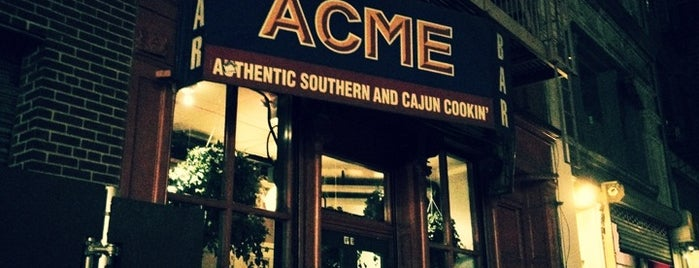 ACME is one of NYC ONCE AGAIN.