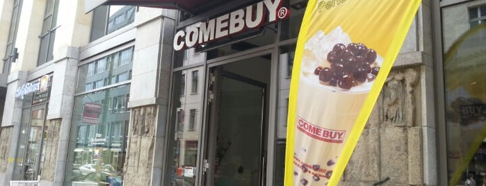 ComeBuy Bubble Tea is one of The 15 Best Places for Comics in Berlin.