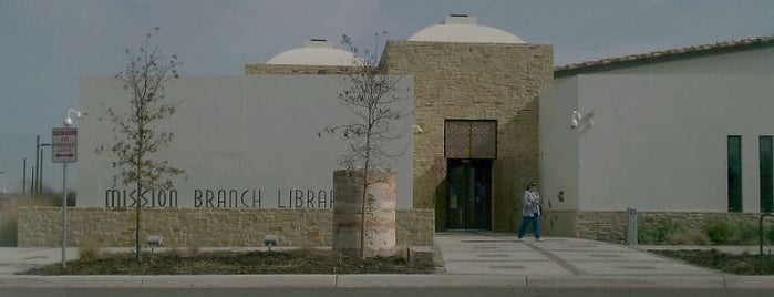 Mission Branch Public Library is one of Ya es hora-Libera Tu Voz.