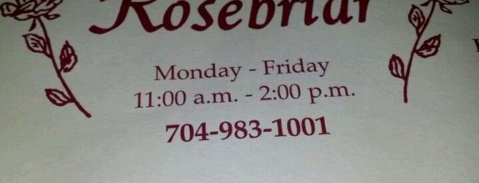 Rosebriar is one of Must-visit Food in Albemarle.