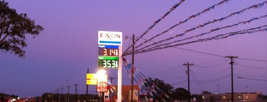 Exxon is one of just here.