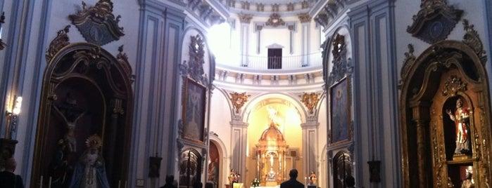 Iglesia de la Santa Cruz y San Felipe Neri is one of 101 cosas que ver en Málaga antes de morir.