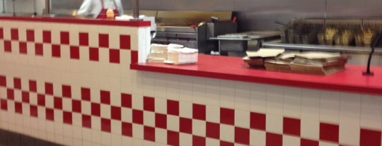 Five Guys is one of Burger Joints USA.